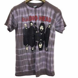 Radiohead Music Band Graphic Short Sleeve Shirt